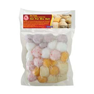 Frozen Assorted Seafood Ball (Hot Pot Mix Ball)