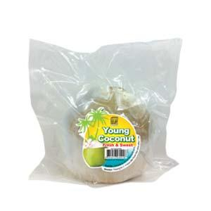 Frozen Young Coconut (Fresh & Sweet)