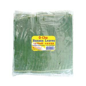 Frozen Banana Leave