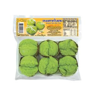 Frozen Toddy Palm Cake (Pandan Flavor)
