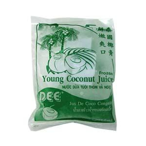 Frozen Young Coconut Juice