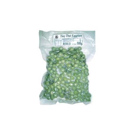 Frozen Vegetable Tiny Thai Eggplant Vacuum Pack500g